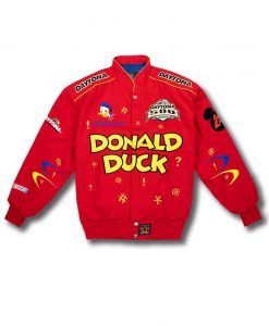 Donald Duck Red Bomber Jacket