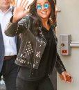 F9 Letty Ortiz Black Leather Studded Jacket