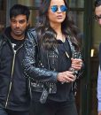 F9 Letty Ortiz Black Leather Studded Jacket