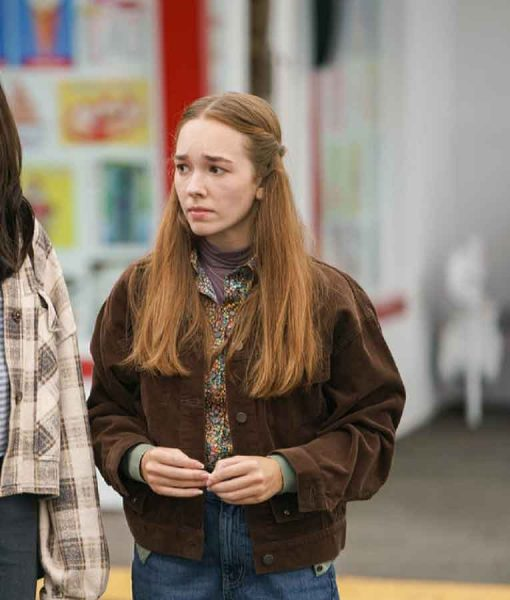 Manifest S03 Angelina Meyer Brown Jacket