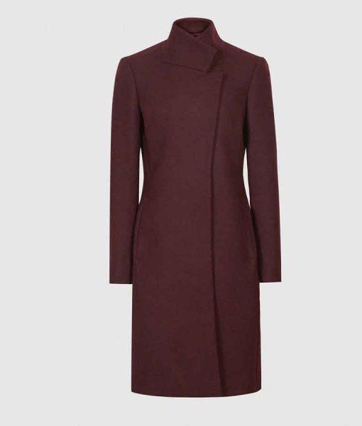Legacies S03 Hope Mikaelson Maroon Coat