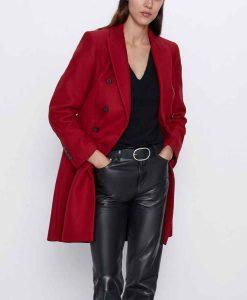 Legacies S03 Lizzie Saltzman Red Coat