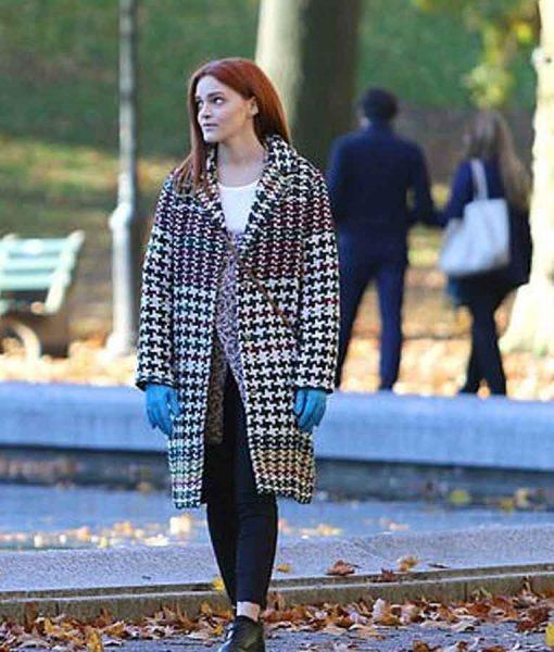 Separation (2021) Samantha Houndstooth Coat