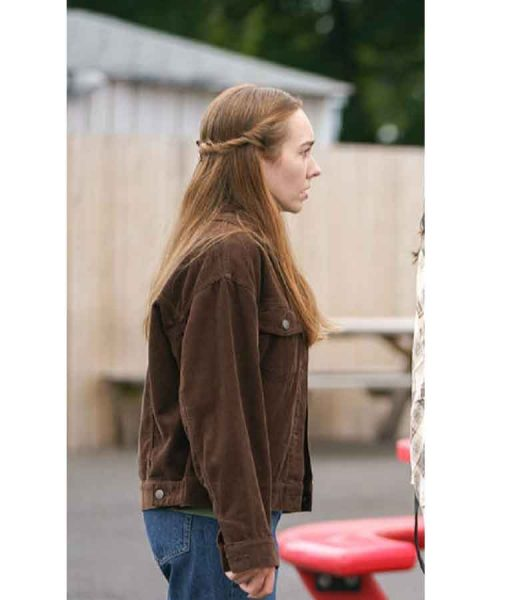 Holly Taylor Brown Manifest S03 Angelina Meyer Jacket
