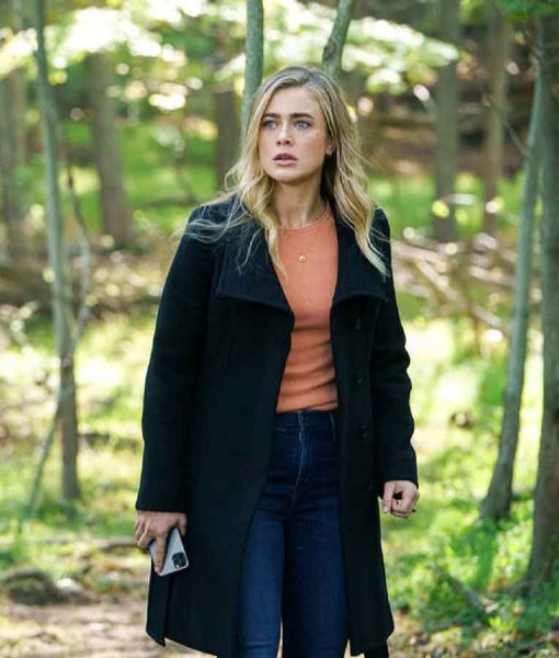 Manifest S03 Michaela Stone Black Coat