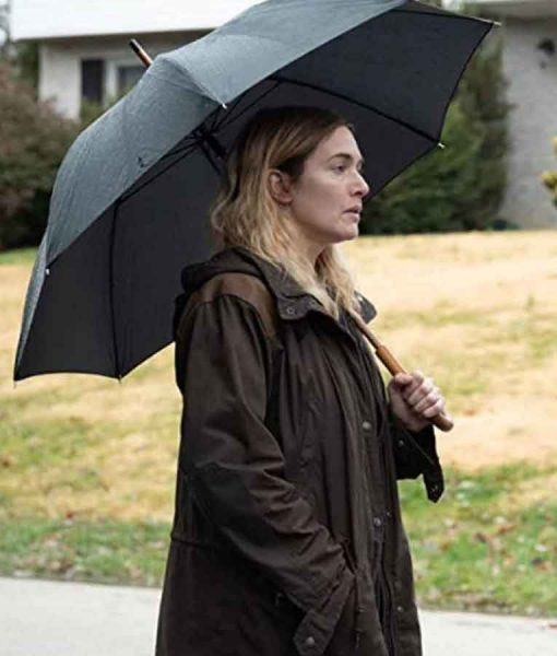 Mare Of Easttown 2021 Kate Winslet Jacket With Hood