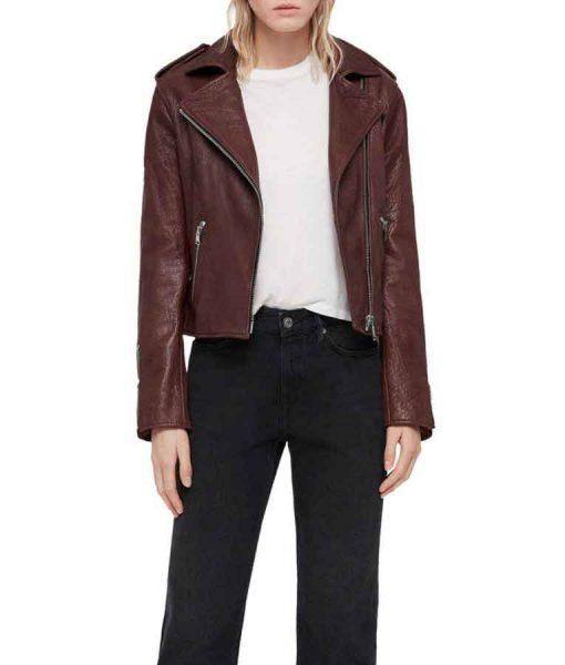Nicky Shen Kung Fu Leather Jacket
