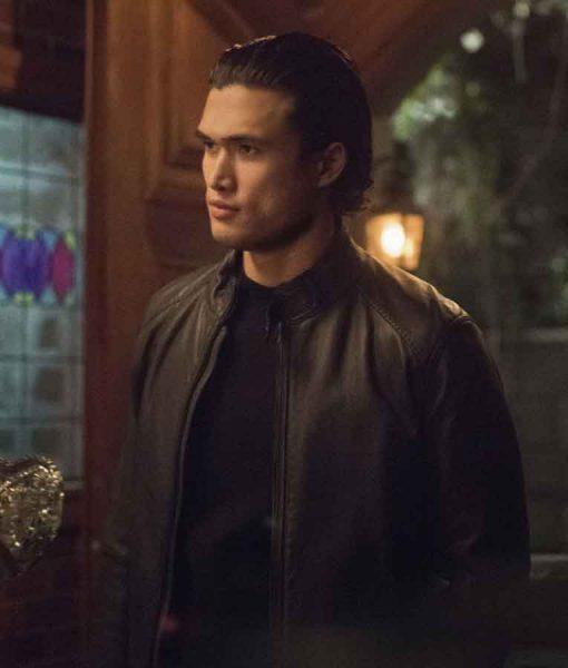 Riverdale S05 Charles Melton Leather Jacket