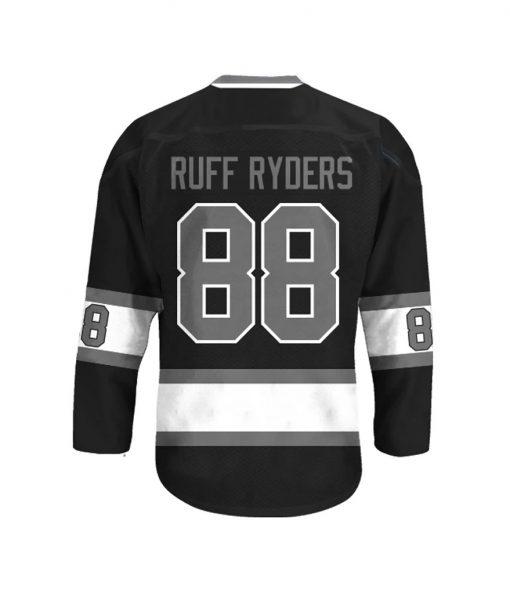 Ruff Ryders 88 Black Hockey Jersey
