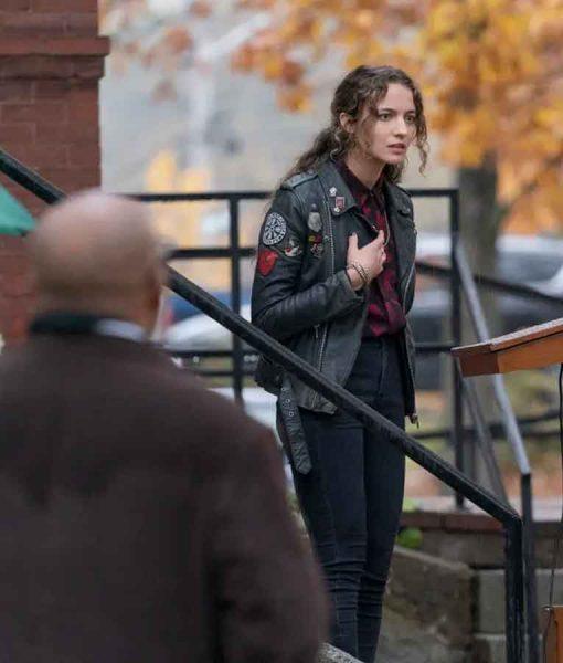 The Republic of Sarah 2021 Sarah Cooper Black Leather Jacket