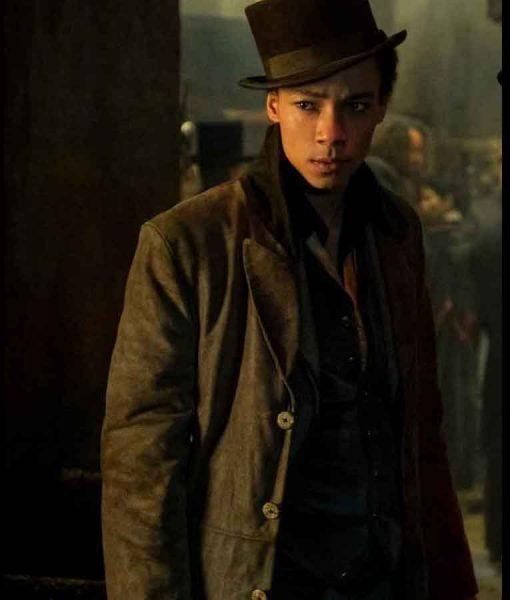 Shadow and Bone Jesper Fahey Trench Coat