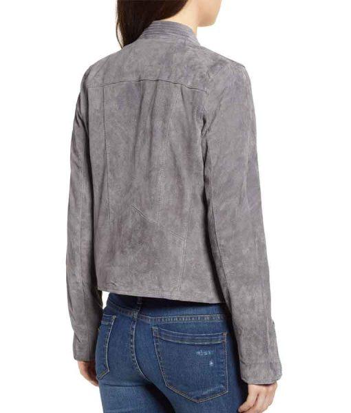 Supergirl Season 06 Nia Nal Suede Leather Jacket
