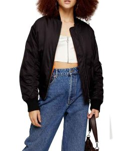 Juno Temple Ted Lasso Keeley Bomber Jacket