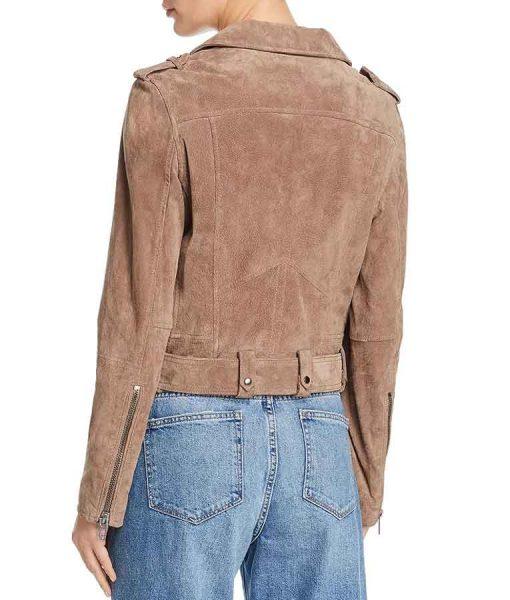 Ted Lasso Keeley Jones Suede Leather Jacket