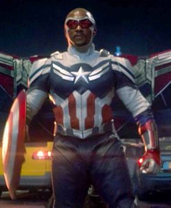 Anthony Mackie The Falcon and The Winter Soldier Captain America Jacket