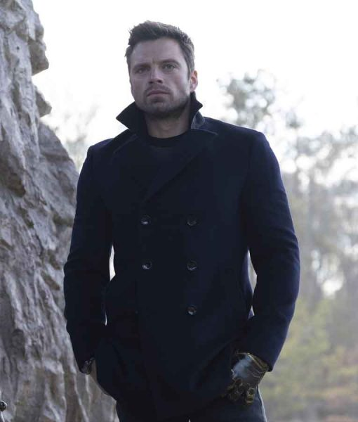 The Falcon and the Winter Soldier Bucky Barnes Peacoat