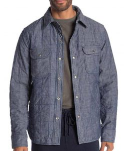 Carlos Valdes The Flash S07 Cisco Ramon Quilted Jacket
