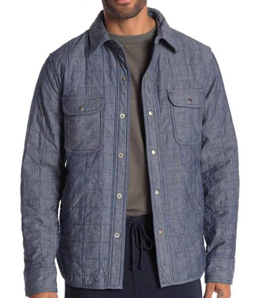The Flash S07 Cisco Ramon Quilted Jacket