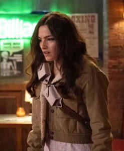 The Flash Season 07 Allegra Garcia Cropped Jacket