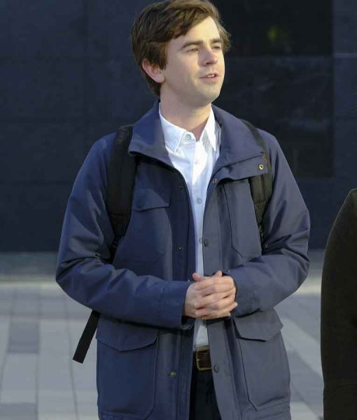 The Good Doctor Season 04 Dr. Shaun Murphy Grey Jacket