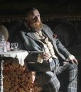 Declan Orrun The Nevers 2021 Nick Frost Checkered Coat