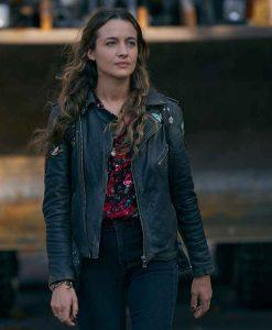 Sarah Cooper The Republic of Sarah Black Leather Jacket