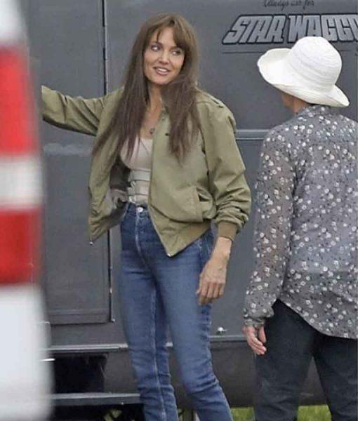 Those Who Wish Me Dead Angelina Jolie Bomber Jacket
