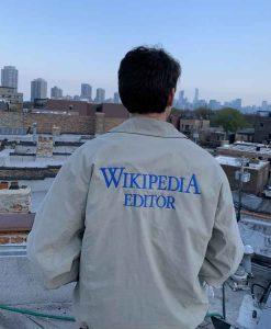 Wikipedia Editor Jacket