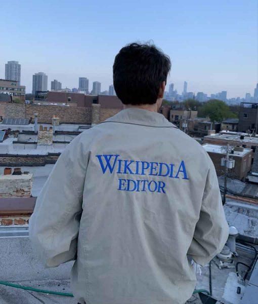 Wikipedia Editor Bomber Jacket