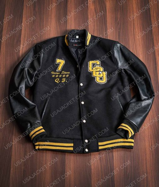Cyborg Zack Snyder's Justice League Gotham City University Jacket