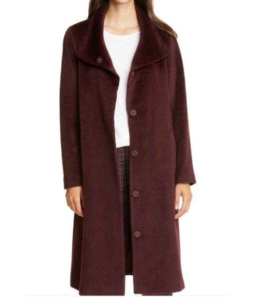 Zoey's Extraordinary Playlist Maggie Clarke Wool Coat