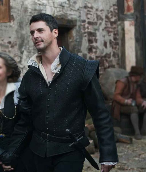 A Discovery of Witches Matthew Clairmont Leather Jacket