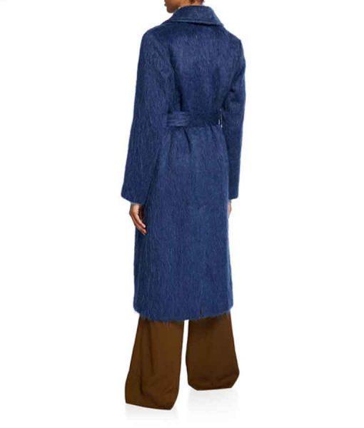 Arrow Season 08 Felicity Smoak Wool-blend Coat