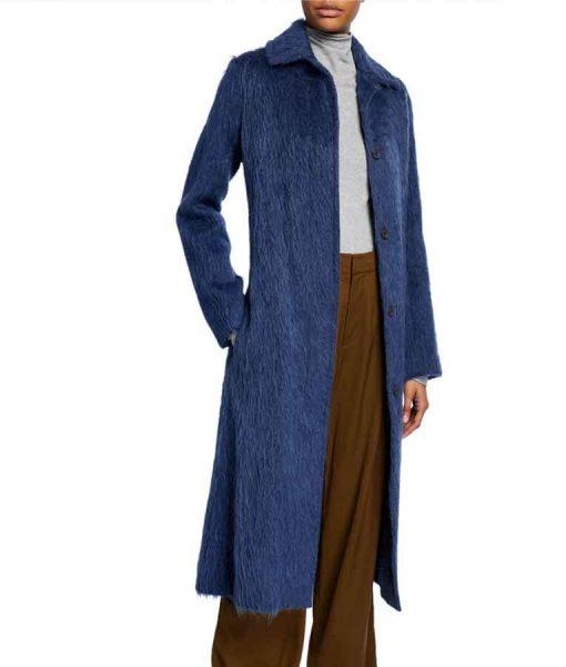 Arrow Season 08 Felicity Smoak Woolen Coat
