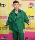 Billboard Music Awards 2021 Nick Jonas Peacoat