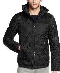 LaRoyce Hawkins Chicago P.D. S08 Officer Kevin Atwater Quilted Jacket
