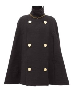 Debi Mazar Younger S07 Maggie Double Breasted Cape Coat