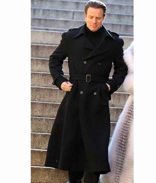 Ewan McGregor Halston 2021 Wool-blend Coat