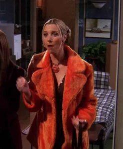 Lisa Kudrow FRIENDS Season 05 Phoebe Buffay Fur Coat