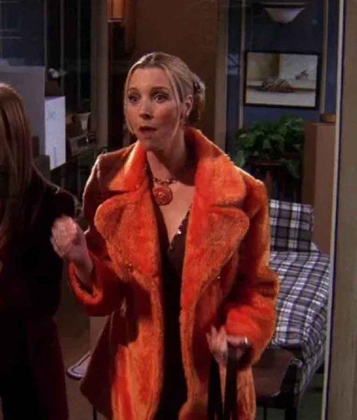 FRIENDS Season 05 Phoebe Buffay Fur Coat