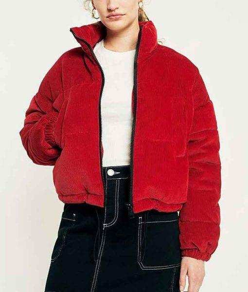 Feel Good George Red Corduroy Jacket