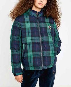 Feel Good George Plaid Puffer Jacket