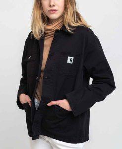 Mae Martin Feel Good Season 02 Mae Black Cotton Jacket