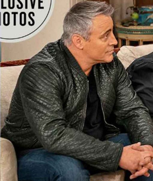 Friends The Reunion 2021 Matt LeBlanc Leather Jacket
