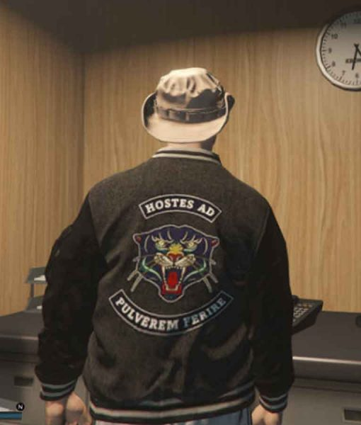 GTA 6 Panther Bomber Jacket