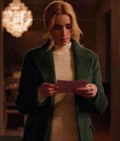Ginny & Georgia 2021 Georgia Miller Green Coat