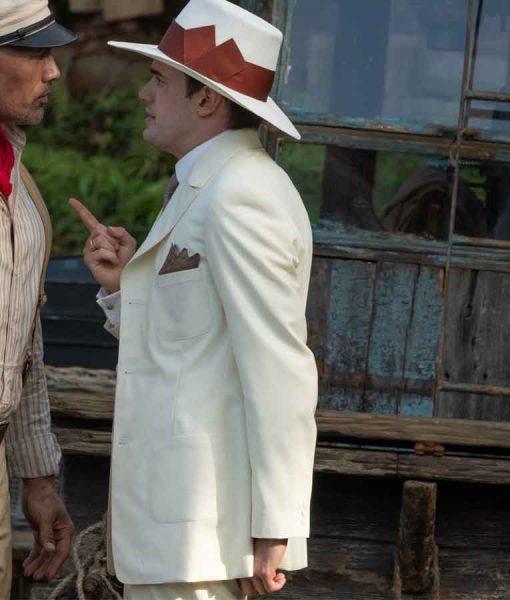 Jungle Cruise McGregor Houghton White Mid-length Coat