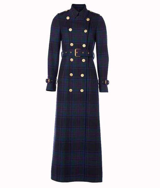 Kate Middleton Holland Cooper Tartan Trench Coat