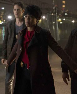Law & Order Organized Crime Ayanna Bell Leather Coat