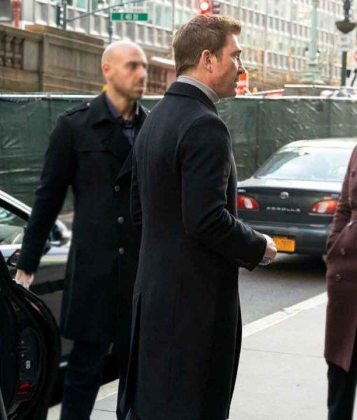 Law & Order Organized Crime Richard Wheatley Woolen Coat